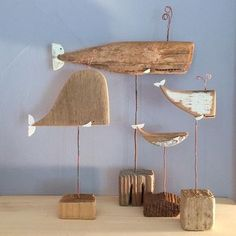 Wood, driftwood fish ---- Vedi la foto di Instagram di @made_by_cbk • Piace a 394 persone
