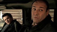 The Sopranos: Season 4, Episode 7 Watching Too Much Television (27 Oct. 2002) James Gandolfini,  Tony Soprano, Robert Iler Robert Iler , A.J. Soprano