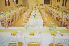 A Delightfully Bright And Yellow Handmade, DIY Village Hall Wedding | Love My Dress® UK Wedding Blog