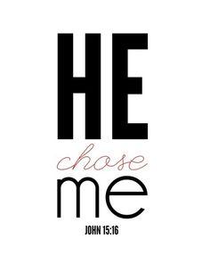 Wow He Chose Me!!