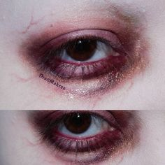 Strange with a girly side. A woman with a serious addiction to gothy tidbits & the makeup industry Artist Cat Lady &… Sfx Makeup, Cosplay Makeup, Makeup Art, Pretty Makeup, Simple Makeup, Makeup Looks, Gore Aesthetic, Aesthetic Makeup, Makeup Inspo
