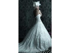 Allure Bridals C225 8 find it for sale on PreOwnedWeddingDresses.com