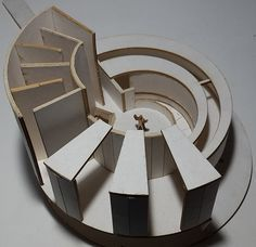 New Haven Arquitectura moderna - New Haven Preservation Trust Conceptual Model Architecture, Folding Architecture, Maquette Architecture, Landscape Architecture Drawing, Pavilion Architecture, Modern Architecture House, Concept Architecture, Interior Architecture, Architecture Student