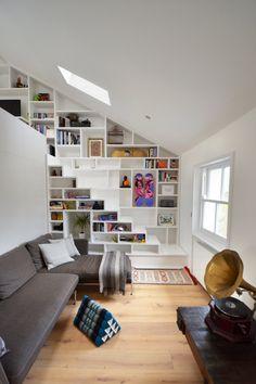 Lo studio di architettura Craft design ha progettato l'interno di questo meraviglioso e originale loft contemporaneo a Londra.