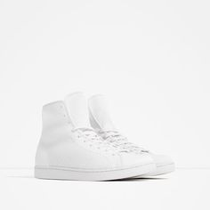 ZARA - PROMOTIONS - SEAMLESS HIGH TOP SNEAKERS