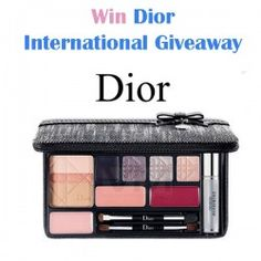 Dior International Giveaway ^_^ http://www.pintalabios.info/en/fashion-giveaways/view/en/3407 #International #MakeUp #bbloggers #Giweaway