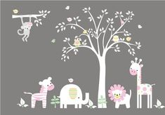 Image on Designs Next http://www.designsnext.com/home-decor/25-cute-wall-art-for-kids-room.html