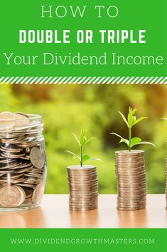 Want to reach passive income retirement faster? Here are 3 easy and simple ways to double or triple your dividend income and yield without taking excessive risk. Learn how other dividend investors are reaching retirement faster. Plus, learn one simple hac Investing For Retirement, Early Retirement, Investing Money, Retirement Planning, Retirement Funny, Retirement Quotes, Retirement Cards, Financial Planning, Financial Tips