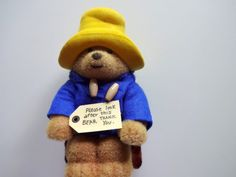 Vintage Paddington Bear Bank 1987 by WylieOwlVintage on Etsy, $18.00