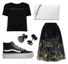 """""""Untitled #268"""" by ninaellie on Polyvore featuring Boohoo, Ted Baker, Vans and Michael Kors"""