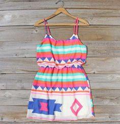 Native Sea Dress
