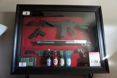 LOL.. Now maybe I would let up on the gun rule if my husband wanted to create this ;p