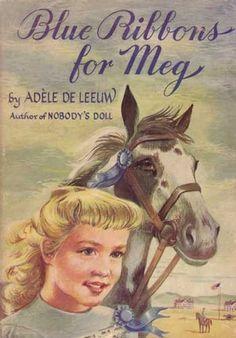 Blue Ribbons for Meg by Adele de Leeuw