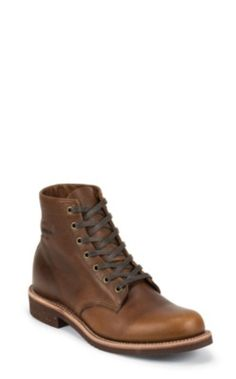 "chippewa / men's 6"" tan renegade general utility service boots"