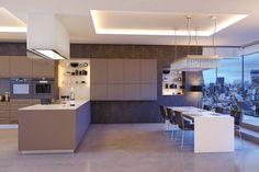 Zurfiz Ultramatt Metallic Basalt - By BA Components. Brilliant Basalt on your kitchen doors give your kitchen that home design that you will love. Elegant Kitchens, Bespoke Kitchens, Luxury Kitchens, Modern Kitchens, Dream Kitchens, Dark Kitchens, Fitted Kitchens, Kitchen Unit Doors, Kitchen Cabinet Styles