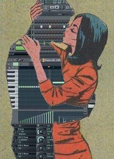 http://hiphopsamplez.com hiphopsamplez: Chicks love FL Studio!!... #musicproduction #musicproducer #beatmakers #flstudio #ableton #logicpro