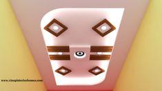 Latest Gypsum False Ceiling designs for bedroom simple false designs 2018 Drawing Room Ceiling Design, Simple False Ceiling Design, Gypsum Ceiling Design, House Ceiling Design, Ceiling Design Living Room, Ceiling Light Design, Ceiling Ideas, House Design, Fall Celling Design