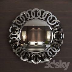 Mirror Trim, 3d Mirror, Fancy Mirrors, Glass Mirrors, Oversized Floor Mirror, Living Room Mirrors, Beautiful Mirrors, Custom Window Treatments, Venetian Mirrors