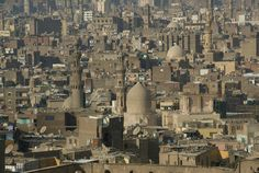 Cairo as seen from the Citadel.