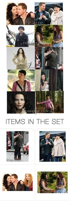 """Snow White/Mary Margaret: Once Upon A Time edit"" by ladymaryx ❤ liked on Polyvore featuring art"