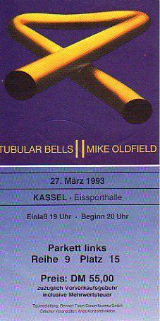 Kassel 1993/03/27 Lab, Mike Oldfield, Tours, Kassel, Labs, Labradors