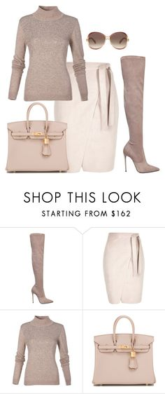 """""""Untitled #55"""" by divamanda ❤ liked on Polyvore featuring Le Silla, Hermès and Marc Jacobs"""