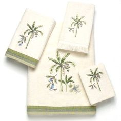 Catesby Palm Bath Towel Set