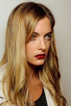 Long hair styles 2013 | Burberry Prorsum