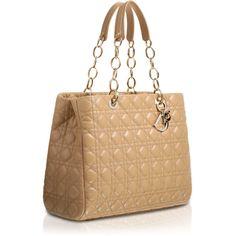 DIOR SOFT Large powder pink leather 'Dior Soft' shopping bag