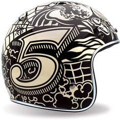 retro bell helmet. looks like marker work from mike giant...