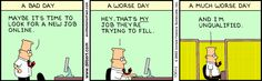 The Dilbert Strip for July 8, 2003