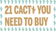 Here are 21 things you can buy with the trendy print 21 Things, Cactus, Deserts, Stuff To Buy, Prickly Pear Cactus, Desserts, Postres, Dessert