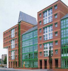 Aldo Rossi | Edificio de Apartamentos Südliche Friedrichstadt | Berín; Alemania | 1981-1988