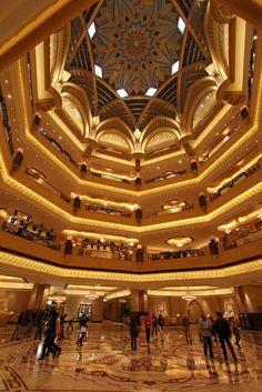 Emirates Palace, Abu Dhabi, United Arab Emirates #dubai #uae