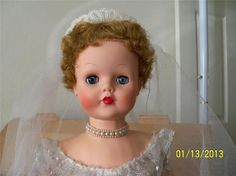 Betty The Beautiful Bride Doll Deluxe Toy Co Topper 1957