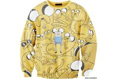 Wish | Adventure Time Too Many Jakes Sweater