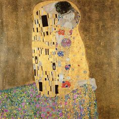 The Kiss~had this print on my wall for years