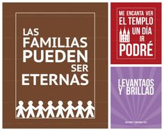 lds posters in Spanish