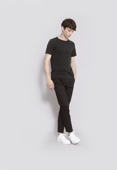 The ASKET T-shirt in black #asket