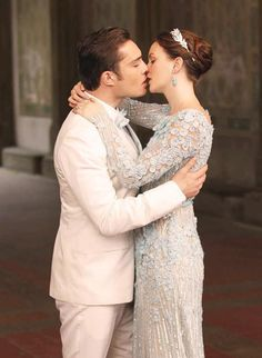 Fashion Is My Drug: Blair & Chuck Getting Married - Gossip Girl's Newest Photos