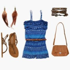 cute Indian style romper outfit