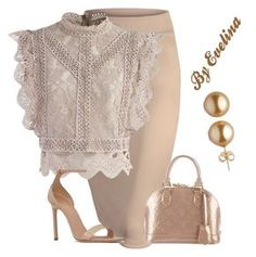 """""""EVE"""" by evelina-er on Polyvore featuring Chicwish, Yves Saint Laurent and Louis Vuitton"""