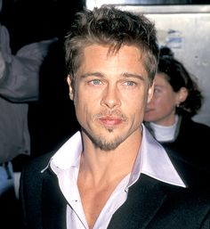 Nov. 2, 1998: At the Meet Joe Black premiere, Pitt's tresses were shorter but he stuck with his trademark goatee.