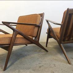 Danish Selig Poul Jensen Z Chairs