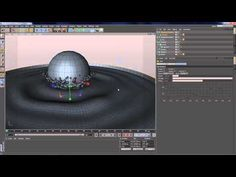 Cinema 4D - Magical Drop - Tutorial - Part 1 - YouTube