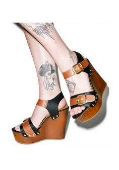 #dollskill #platforms #heels #woodheels #boho #koolkolby