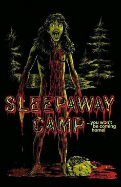 Horror Movie Poster Art : Sleepaway Camp 1983