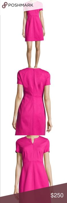 Diane von Furstenberg Pink Dress Beautiful dress for summer weather, brand new with tags, & never worn. Diane Von Furstenberg Dresses Mini