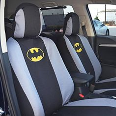 Classic Batman Logo Low Back Seat Covers Bench Seat Cover Batman Car, Batman Vs Superman, Suv Seat Covers, Car Seats, Batman Gifts, Seat Protector, Warner Brothers, Car Floor Mats, Car Accessories