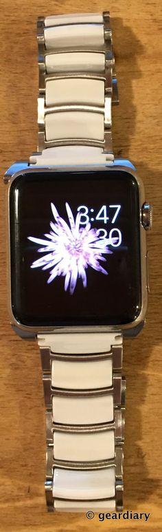 Gear Diary Reviews the Monowear Ceramic Apple Watch Band